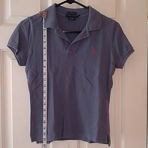 Purple Ralph Lauren Skinny Polo